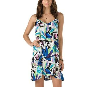Vans Venus Colorful Summer Pattern Slip Dress